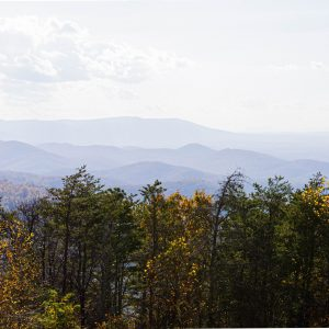 Blue ridge mountains Charlottesville Shenandoah